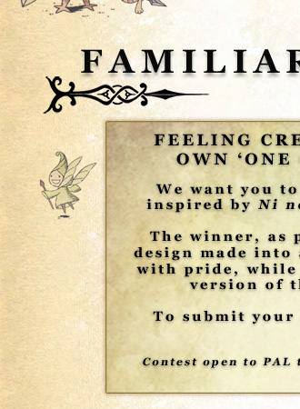 Ni No Kuni - Feeling creative? Want to win your very own 'one of a kind' custom kigurumi?