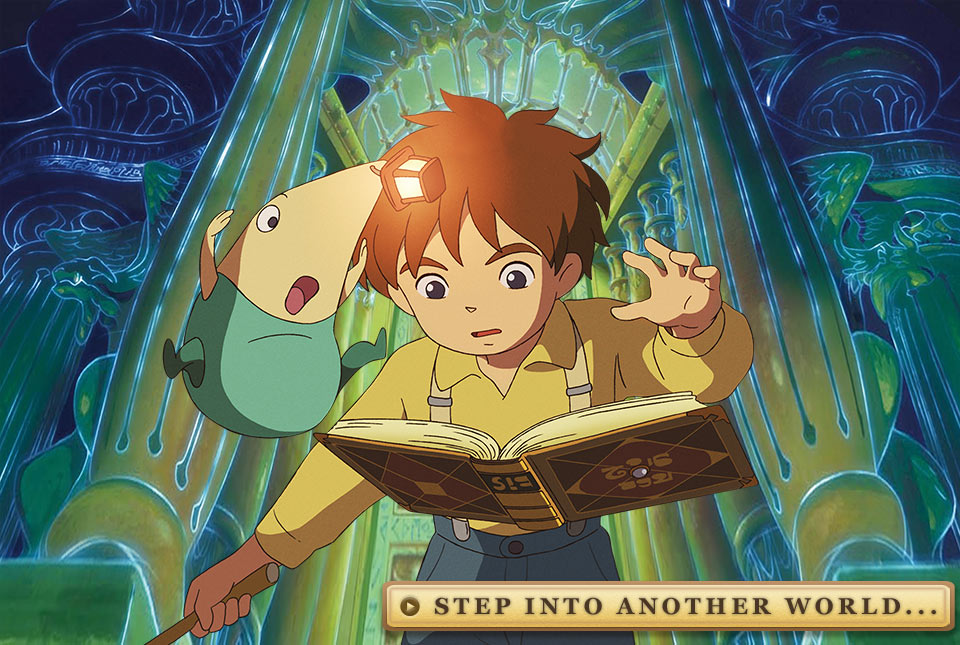 Ni no Kuni: Wrath of the White Witch - Step into Another World