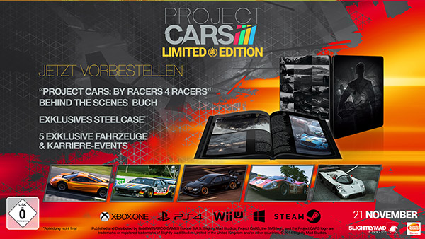 Project cars limited
