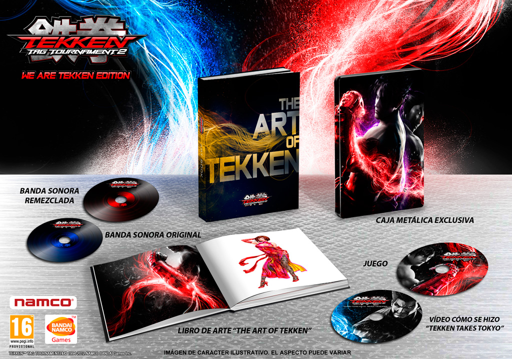 We are TEKKEN Mockup