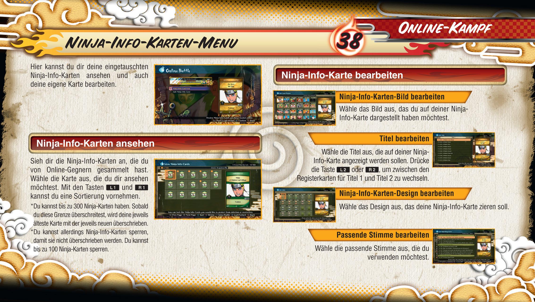 Naruto Shippuden Karten.Naruto Shippuden Ultimate Ninja Storm 4 Playstation 4