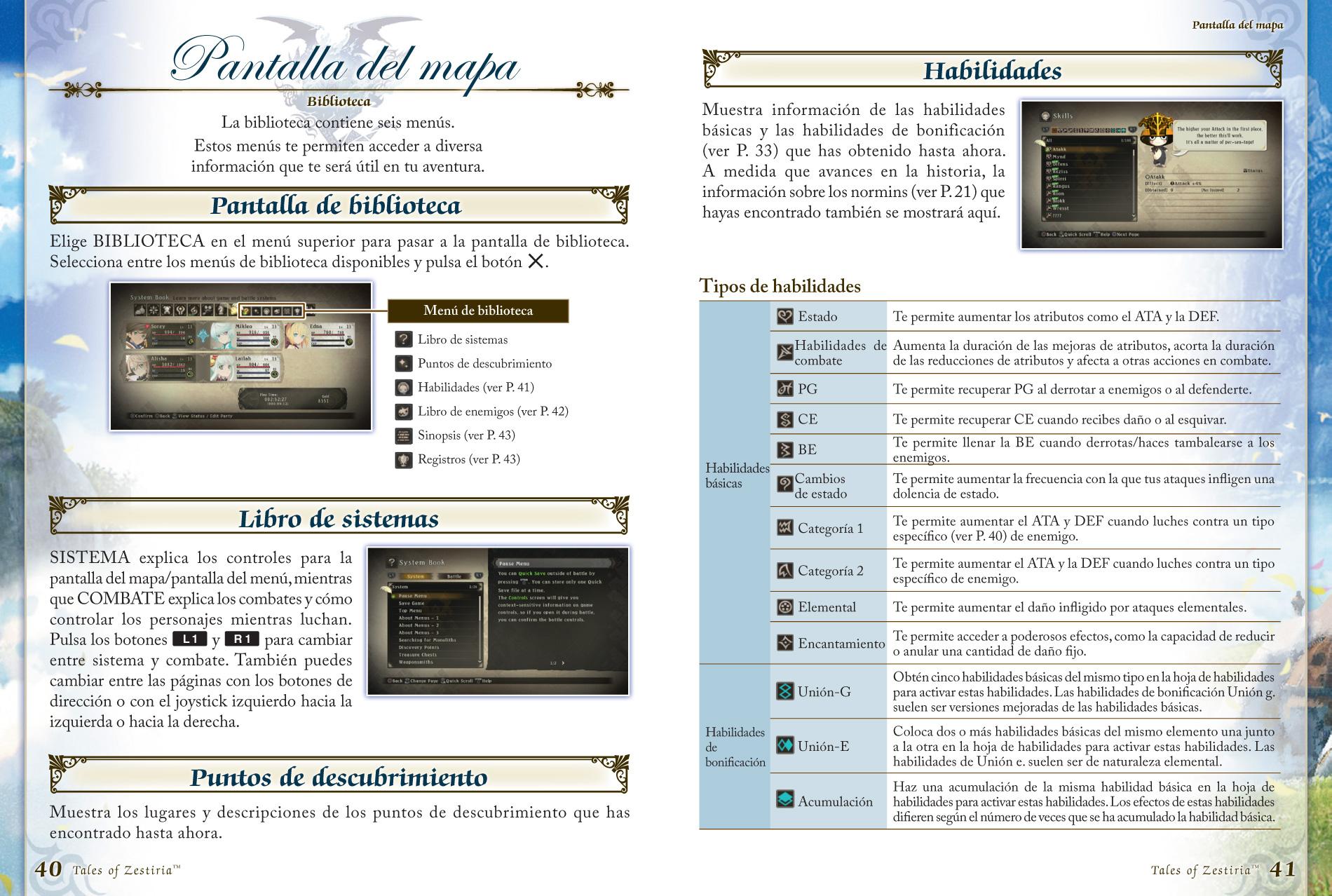 Tales of Zestiria - Playstation 4 E-manual
