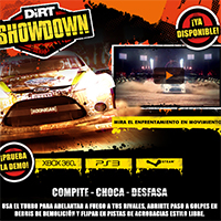 Dirt Showdown ya está disponible - ¡Déjate llevar por un tour de caos motorizado!