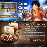 ONE PIECE: PIRATE WARRIORS approda con una fantastica collector's disponibile dal 20 settembre!