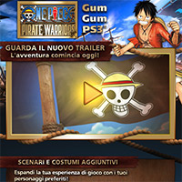 La Thousand Sunny sta salpando! ONE PIECE: PIRATE WARRIORS è ora disponibile