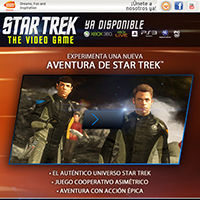 ¡Prolonga tu aventura de STAR TREK en PS3, Xbox 360 y PC ya con STAR TREK El Videojuego!