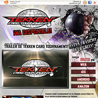 ¡Juega ya a TEKKEN CARD TOURNAMENT GRATIS!